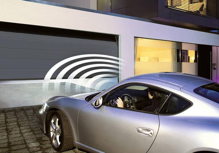 Автоматическое открывание гаражных ворот
